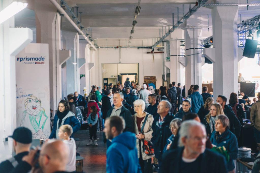 RAW-Festival am 28.09.19 im Wirkbau Chemnitz. Foto: Ernesto Uhlmann